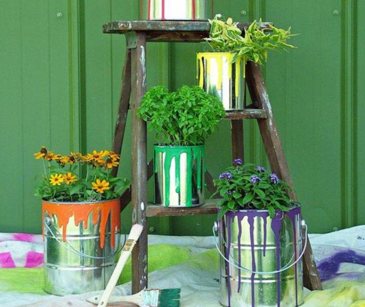 Idėjos puošiantiems namus gėlėmis