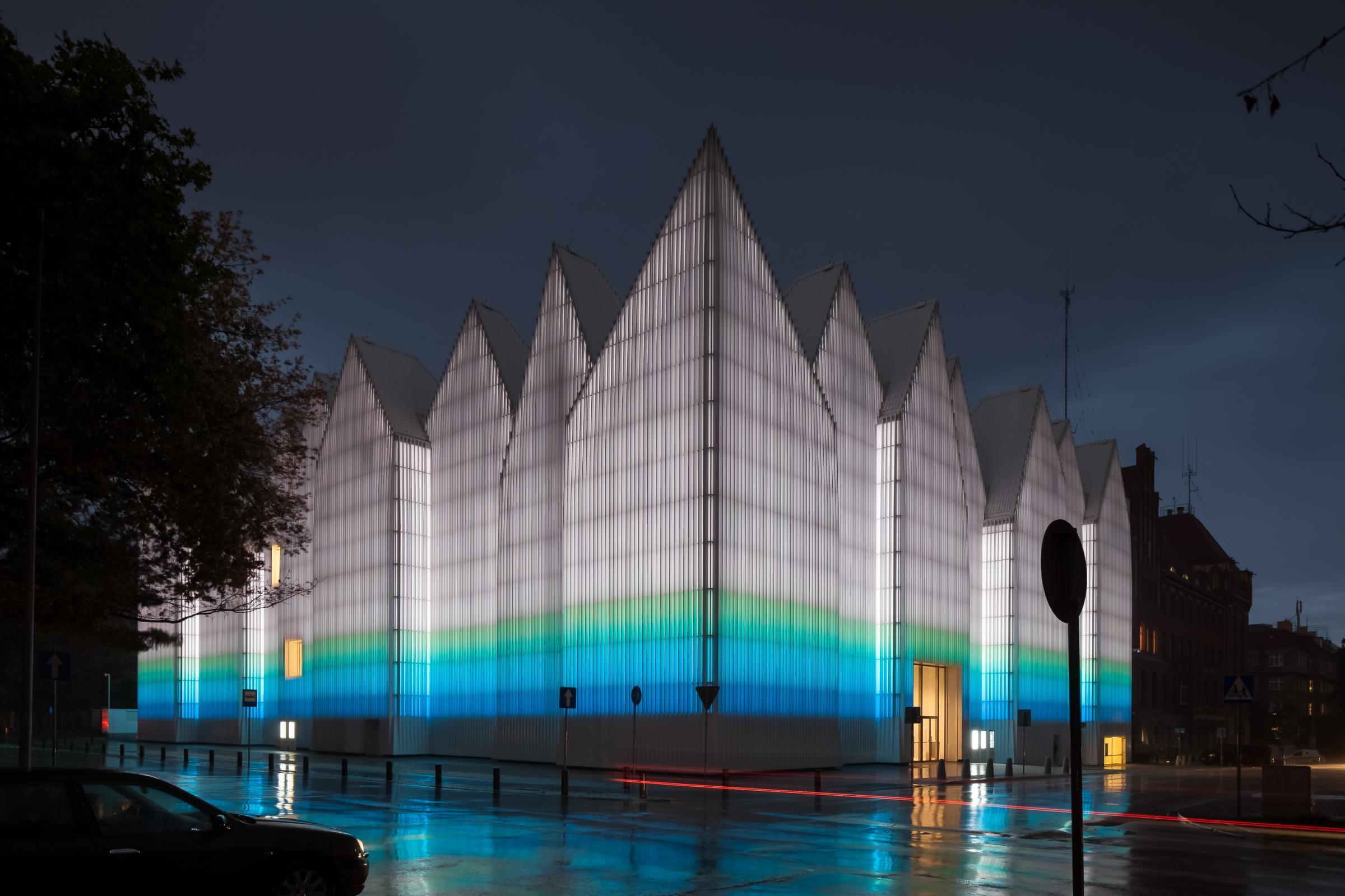 Įspūdinga filharmonija Lenkijoje